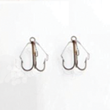 Custom Catcher #4 Weedless Hooks (Set of 5)