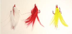 Custom Catcher #2 Feathered Hooks (Set of 2)
