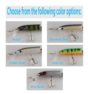 Custom Catcher Front Body Complete w/ Loop & Hook