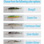 Custom Catcher Jointed Minnow Complete Lure