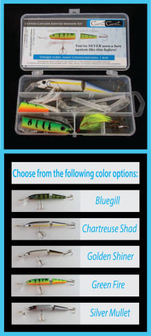Custom Catcher Jointed Minnow Double Body Kit
