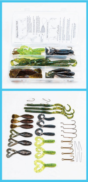 Soft Body Fishing Lure Accessory Kit