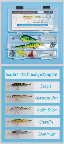 Custom Catcher Double Lure Kit